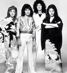 Roger Taylor, Freddie Mercury, Brian May, John Deacon