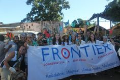 The Frontier team take to the streets of Madagascar! Photo credit: Cleo Dane Legge - Frontier Madagascar Marine Conservation and Adventure volunteer