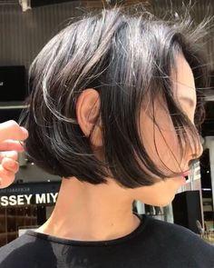 2017のお気に入り えりあしギリギリボブ 3ヶ月もつ髪型