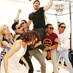 I love everything about this @tvguidemagazine @nbcgrimm @comic_con
