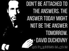 David Duchovny #atheist #atheism