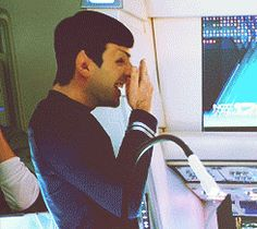 Zachary Quinto as Spock (Tumblr)
