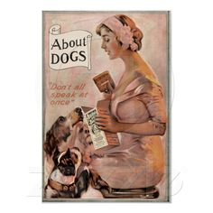 Vintage Dog Food Ad Poster Art   Zazzle.co.uk
