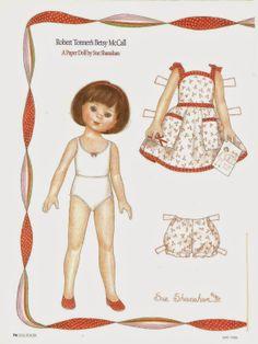 Miss Missy Paper Dolls: Robert Tonner Betsy McCall