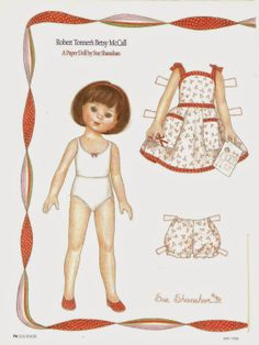 Miss Missy Paper Dolls: Robert Tonner Betsy McCall