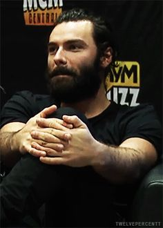 Aidan Turner at MCM London Comic Con