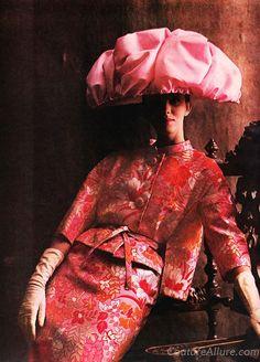 Ben Zuckerman suit, Lilly Dache hat - 1960.1960s fashion