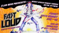Fast & Loud - Metal Party Sexta Feira 25 de Agosto #Heavy #Speed #Power #Thrash Host: André Icon Entrada 2 Noirs Aberto das 23 às 4  ACCEPT > JUDAS PRIEST > METALLICA > OZZY OSBOURNE > SLAYER > ANTHRAX > MOTORHEAD > IRON MAIDEN > SAXON > MEGADETH > ANGEL WITCH > KREATOR > AGENT STEEL > NUCLEAR ASSAULT > TESTAMENT > EXCITER > DEATH ANGEL > OMEN > LIEGE LORD > SAVAGE GRACE > DESTRUCTION > ATTACKER > MALICE > SACRED REICH > MANILLA ROAD > RIOT > QUEENSRYCHE > SODOM > VENOM > EXODUS > IRON ANGEL…