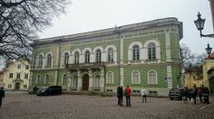 Estonian Knighthood House in the of used by until last year. Old Town, Notre Dame, Travelling, Castle, Mansions, Architecture, House Styles, Building, Instagram Posts