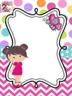Photo Frame Maker, Teacher Binder Covers, Diy And Crafts, Crafts For Kids, Free Printable Stationery, Vintage Tea Parties, Kids Background, Paper Butterflies, Borders For Paper