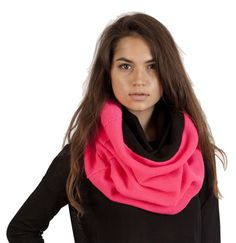 Speaking to the need for functional fashion, Plush presents this classic, premium knit infinity scarf. Featuring their signature fleece lining to ward off the Winter frost!
