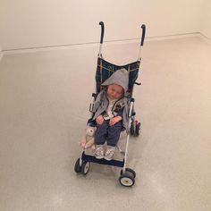 "#JardinExotique Duane Hanson ""Baby in stroller"", 1995 @nmnmonaco #nouveaumuseenationaldemonaco #monaco condemned to sleep forever in a museum poor kid by chrissharpdf from #Montecarlo #Monaco"