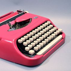 I think I love old fashioned things better when they're pink.