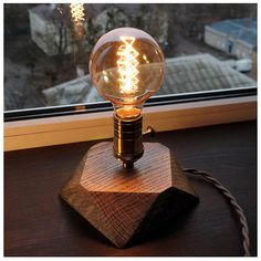 Retro Edison lamp with dimmer for smooth brightness