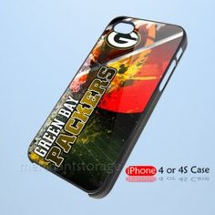 NFL Green Bay Packers Custom iPhone 4 4S Hard Case Cover