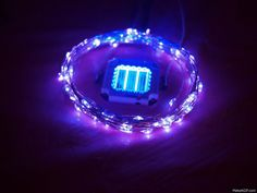 very bright led wreath for christmas decorating
