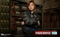 "Allison Scagliotti in ""Warehouse 13"""
