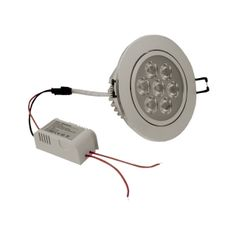 7W LED Einbaustrahler High Power Warmweiß