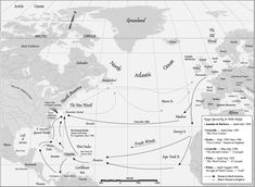 Voyages Sponsored by Sir Walter Raleigh Walter Raleigh, England Map, Arctic Circle, Naive, Sailing, Africa, United States, Ocean, History