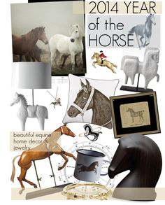 """""""2014 Year of the Horse"""" by cutandpaste on Polyvore"""