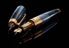 Image result for Caran d'Ache Secret Journey II Chateaubriand Fountain Pen