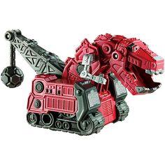 """Christmas/Birthday - Dinotrux Pull Back Ty Rux - Mattel - Toys """"R"""" Us"""