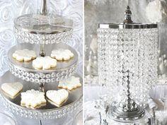 Trend Alert: All White Bridal Showers {+ Winter Theme} www.MadamPaloozaEmporium.com www.facebook.com/MadamPalooza