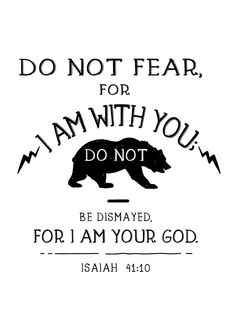 Do not fear, for I am with you; do not be dismayed, for I am your God. Isaiah 41:10 Fear is like fire – if we feed it, it quickly grows out of control. Let this children\'s bible verse print be a reminder that the Lord will never leave those who belong to Him. There is no place on earth even the farthest corners that can keep us away from God. -Woodland theme -Different size options available -Frame not included -High resolution digital file option #isaiah4110