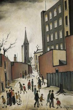 Albion Mill 1941 (Oil on board) Salford, Nostalgic Art, Spencer, English Artists, Mid Century Art, Your Paintings, Acrylic Paintings, Art Uk, Art For Art Sake