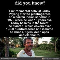 See how much WORLD-ALTERING difference ONE person's efforts can make!!