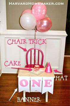 Harvard Homemaker First Birthday Smash Cake Fun - Harvard Homemaker