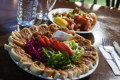 Seven Kebap Restaurant in kadikoy makes these beyti sarma durum wraps that are delicious
