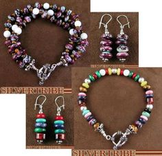 Native American hand strung bracelets and earrings are a Classic, yet unique way to express your individual style! At SilverTribe.com you will find dozens of styles to choose from at prices that you must take advantage of!
