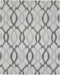 Light Gray Emilie Flatweave Sweater Wool Area Rug Dining Room 8x10