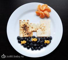 :) Creative food display