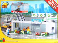 09908 Cobi, Limited Editon, BP Airport, 203 building bricks. 256pcs € 4.79