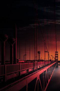 The Golden Gate Bridge | California [via/more] By Likehe Zen