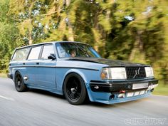The Volvo 245 is the station wagon variant of the 200 series of the Swedish car manufacturer. Description from betterparts.org. I searched for this on bing.com/images
