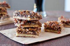 #Beer & #Bacon Pecan Bars