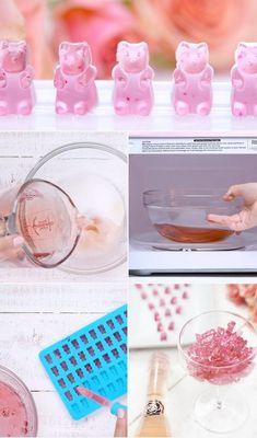 Lav vingummibamser af rosévin | Woman.dk