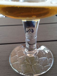 Limited edition Kwaremont beer glass for the 2015 Belgian classics