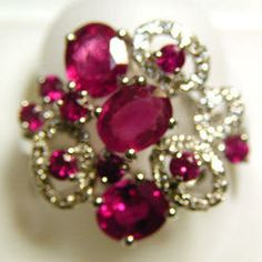 Diamond Studded Gold Rings