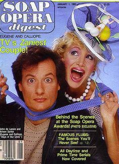 calliope and eugene on days - Who didn't love these two.  John DeLancie and Arleen Sorkin