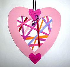 amazon/basteln-rosa-Herz-Muttertag