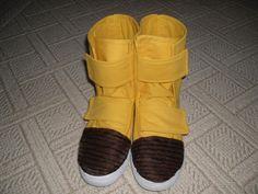 DIY Dragon Ball Z Videl boots!