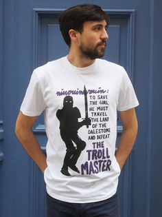 T-Shirt Original Homme | Troll Master de Jean Jullien | Monsieur Poulet