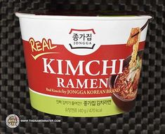Jongga Real Kimchi Ramen - South Korea - The Ramen Rater South Korean Food, Korean Street Food, Kimchi Ramen, Kimchi Food, Instant Ramen, Kimchi Recipe, Korean Dessert, Food Photography Tips, Ramen Noodles