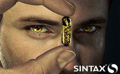 Campanha Sintax: Foto por Ralph Baiker, criação por Marcelo Coutinho.