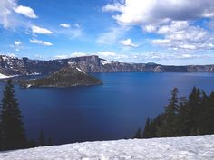 "Crater Lake — From ""Oregon Honeymoon"" on Today is good."