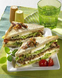 Unser beliebtes Rezept für Camembert-Sandwich mit Bacon und mehr als 55.000 weitere kostenlose Rezepte auf LECKER.de.